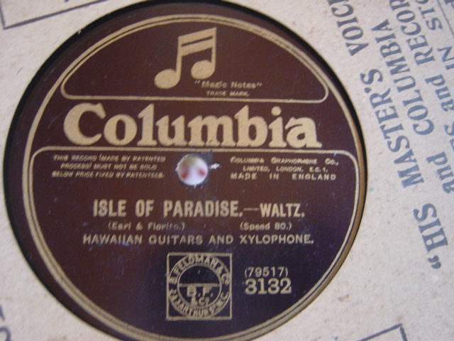 Hawaiian Guitar Duet - Isle of Paradise - Columbia 3132 VG+