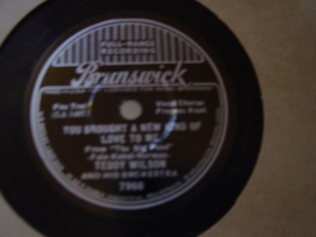 Frances Hunt Teddy Wilson - If I had you - Brunswick 7960