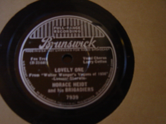 Horace Heidt - Lovely One - Brunswick 7939
