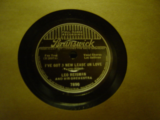 Leo Reisman - I'll dream my way to Heaven - Brunswick 7890