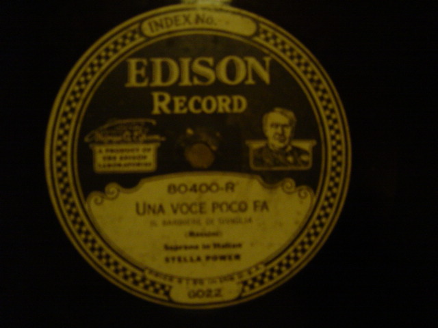 Stella Power - Una Voce poco fa - Edison Diamond 80400