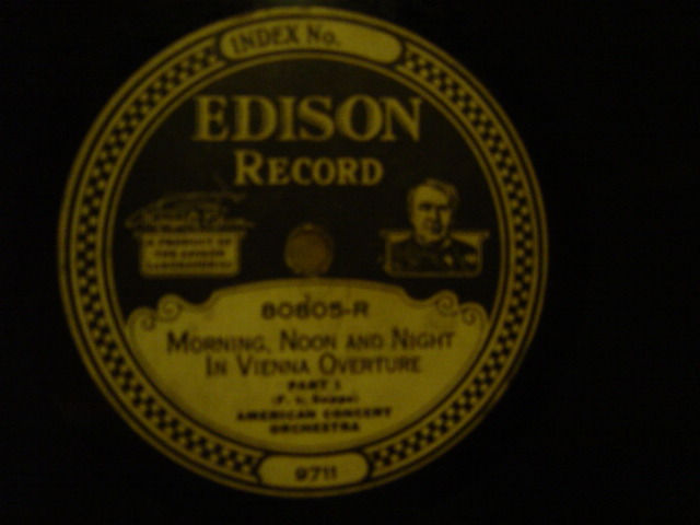 American Concert Orchestra - Morning Noon Night - Edison 80805