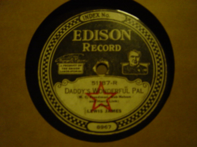 Walter Scanlan / Lewis James - Edison Disc 51187