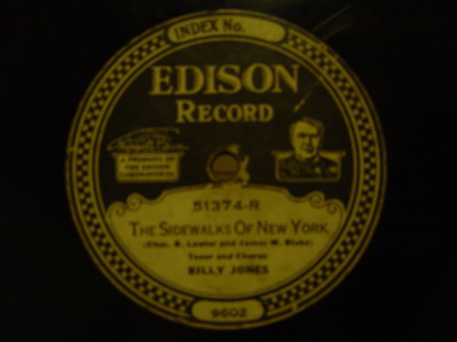Walter Scanlan / Billy Jones - Edison Disc 51374