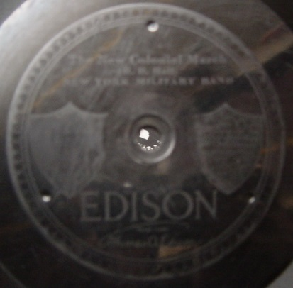 New York Military Band - American Eagle March - Edison Disc