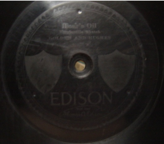 Golden & Hughes - Bears Oil - Edison Disc 50054