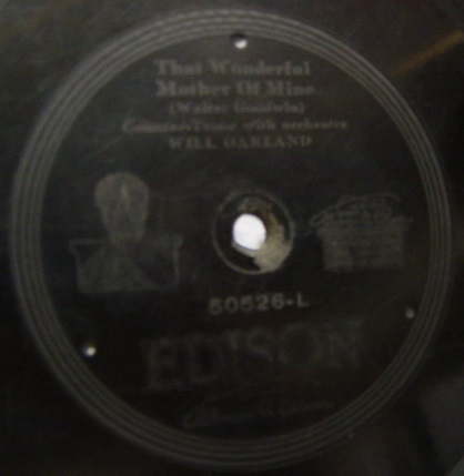 Will Oakland - Dear little Boy of Mine - Edison Disc 50526