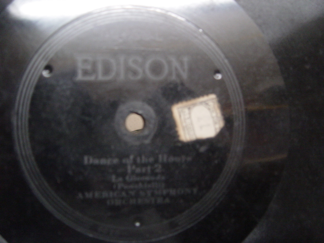 American Symphony Orchestra - Dance of the Hours - Edison 80436