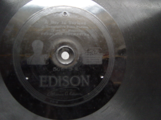 Peerless Orchestra - Day in Toyland - Edison Disc 50673