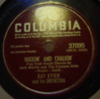 Kay Kyser - The old Lamplighter - Columbia 37095 USA