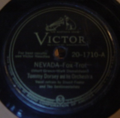 Tommy Dorsey - Nevada / That's it - Victor 20-1710
