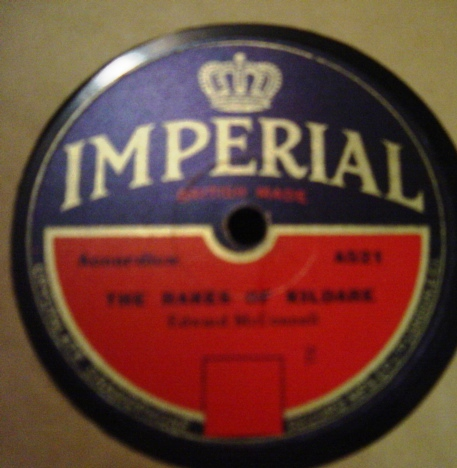 Edward McConnell - The Rakes of Kildare - Imperial A521