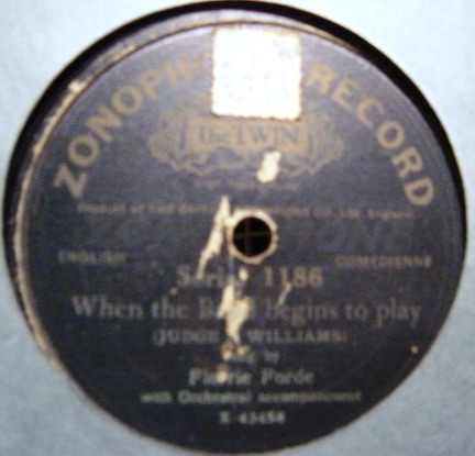 Florrie Forde - Jerry Jeremiah - Zonophone 1186