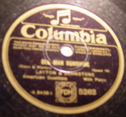 Layton & Johnstone - I'm sorry Sally - Columbia 5262