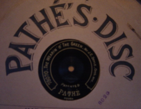 J.C.Doyle - Wearin' o the Green - Pathe 78070 / 78072
