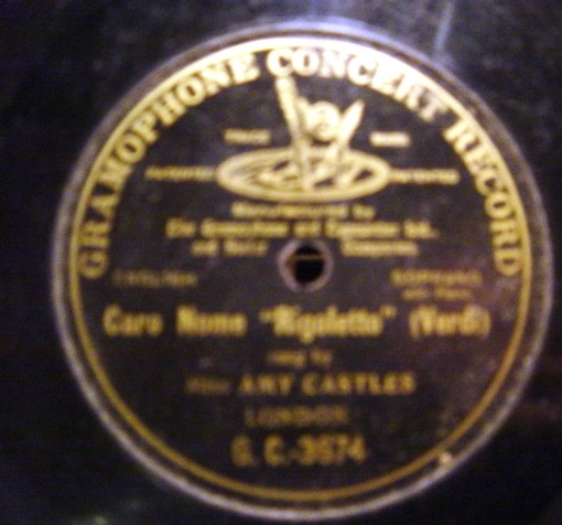 Amy Castles - Caro Nome - Gramophone Concert G.C.-3674