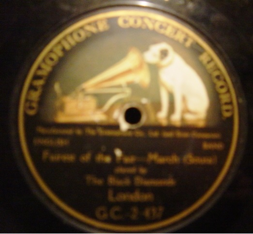 Black Diamonds - Sousa March - Gramophone Concert G.C.-2-437
