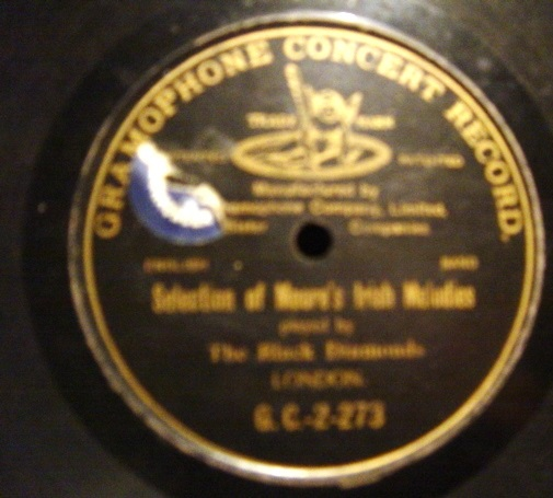 Black Diamonds - Moore's Irish - Gramophone Concert G.C.-2-273