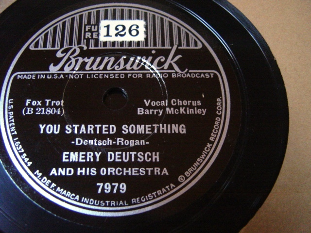 Emery Deutsch - You started something - Brunswick 7979 / E+++