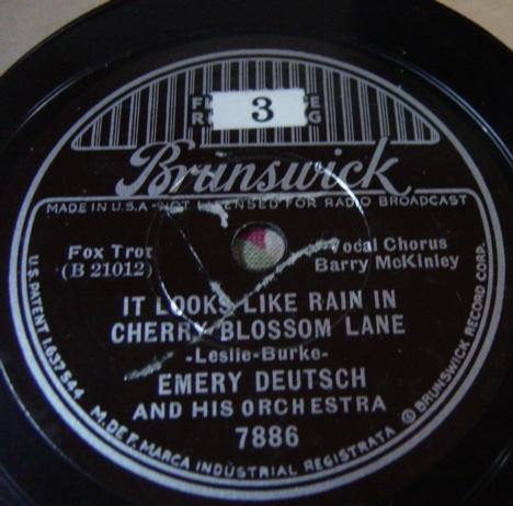 Emery Deutsch - Gypsy Poughkeepsie - Brunswick 7886 / E+++