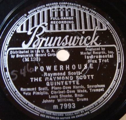 Raymond Scott - The Toy Trumpet - Brunswick 7993 E+++