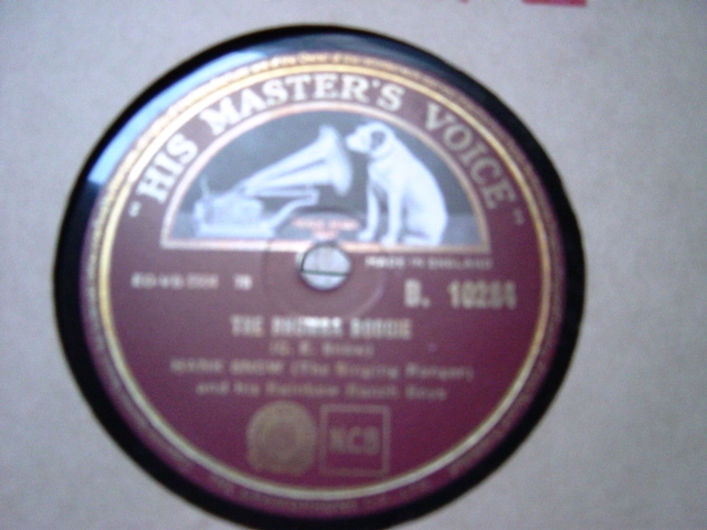 Hank Snow - The Rhumba Boogie - HMV B.10284 Mint -