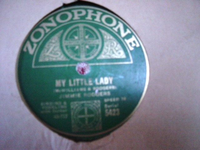 Jimmie Rodgers - My Little Lady - Zonophone 5423 E+++