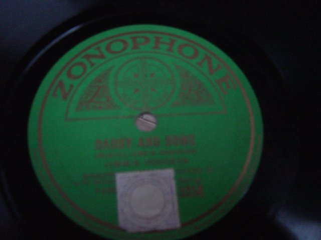 Jimmie Rodgers - Daddy and Home - Zonophone 5356 E+++