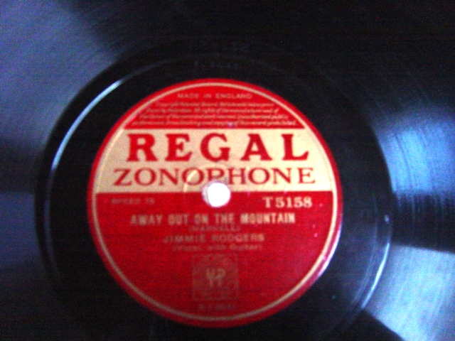 Jimmie Rodgers - Blue Yodel - Regal Zonophone T.5158 E++