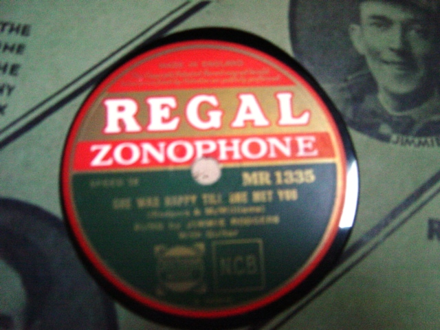 Jimmie Rodgers - Peach Pickin' - Regal Zonophone MR.1335 N-