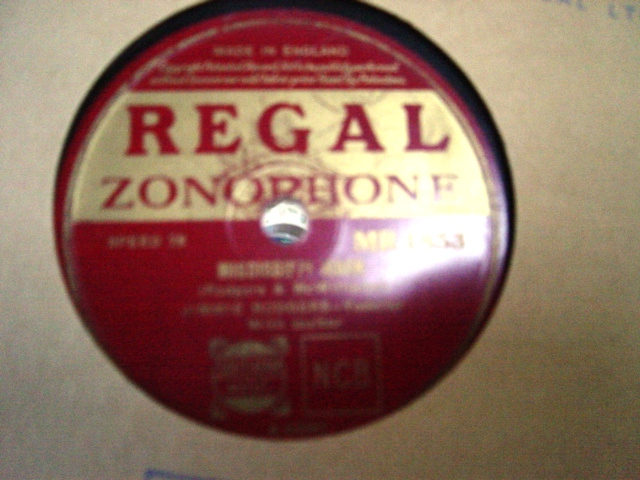 Jimmie Rodgers - Mississippi Moon - Regal Zonophone MR.1853 E