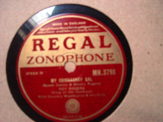 Roy Rogers - I never had a chance - Regal Zonophone MR.3798 E