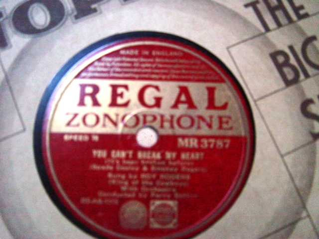 Roy Rogers - You should know - Regal Zonophone MR.3787 E