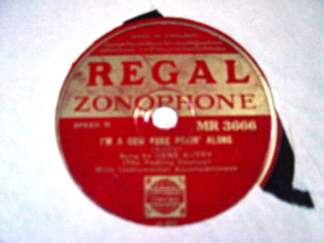 Gene Autry - Jingle Jangle Jingle - Regal Zonophone MR.3666 E+