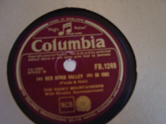 The Rocky Mountaineers - Little Red - Columbia FB.1249 N-