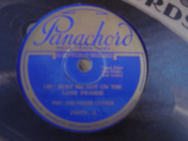 Phil & Frank Luther / The Jones Brothers - Panachord 25079