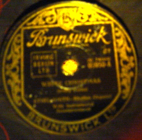 Ethel Smith - White Christmas - Brunswick 03950 VG