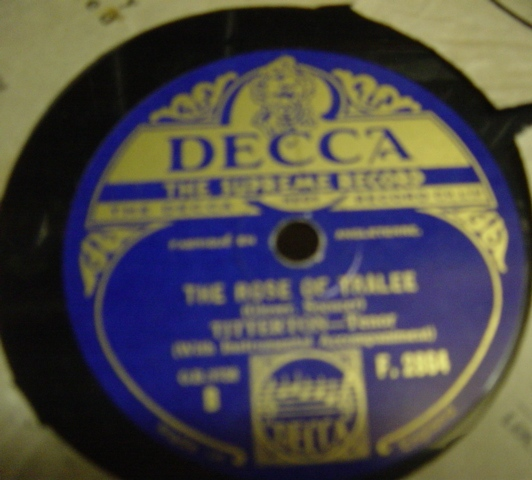 Titterton - The Rose of Tralee - Decca F.2864 Mint -