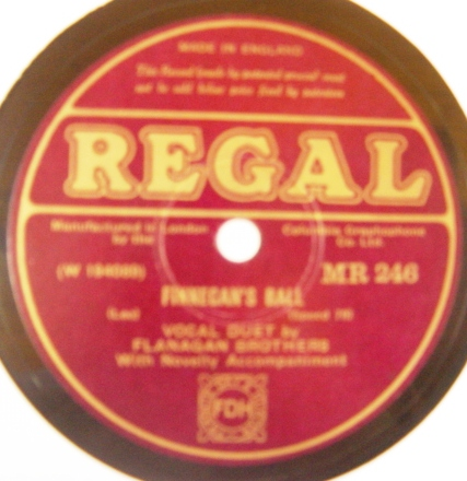 Flanagan Brothers - Finnegans Ball - Regal MR.246