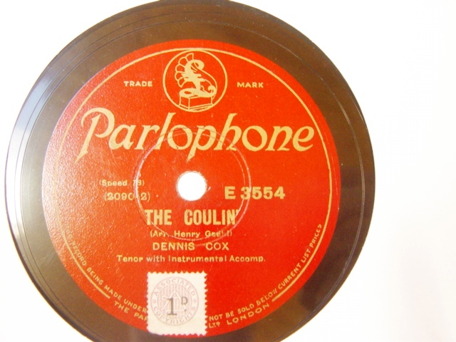 Dennis Cox - The Coulin - Parlophone E.3554