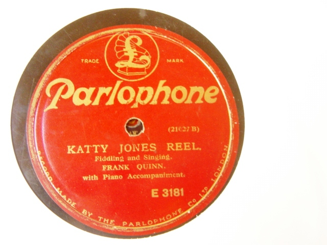 Frank Quinn - Katty Jones Reel - Parlophone E.3181