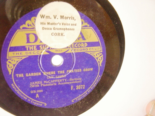 James McCafferty - Garden where Praties Grow - Decca F.3072