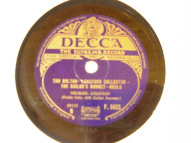 Michael Coleman - Stack of Barley - Decca W.5425