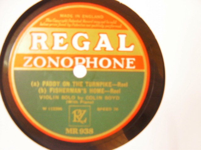 Colin Boyd Violin - Casey's Pig - Regal Zonophone MR.938
