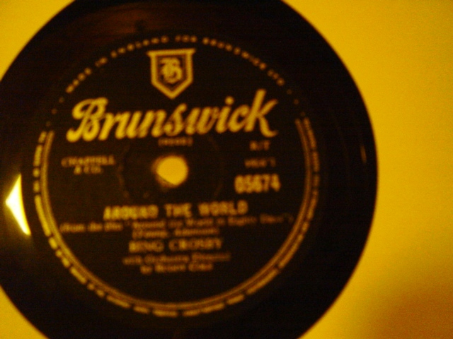 Bing Crosby - Around the World - Brunswick 05674