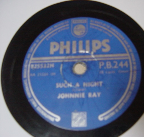 Johnnie Ray - An Orchid foe a Lady - Philips PB 244