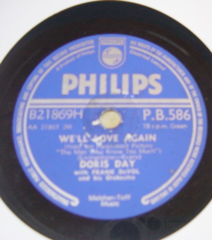 Doris Day - Whatever will be will be - Philips P.B.586