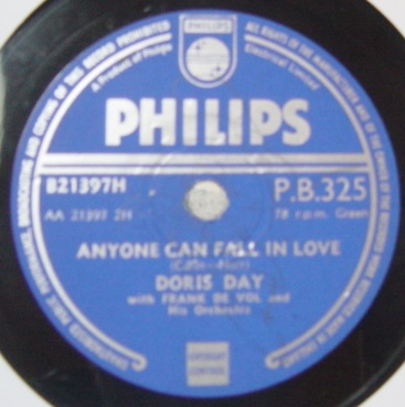 Doris Day - Anyone can fall in love - Philips P.B.325