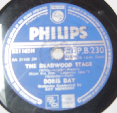 Doris Day - Secret Love - Philips P.B.230