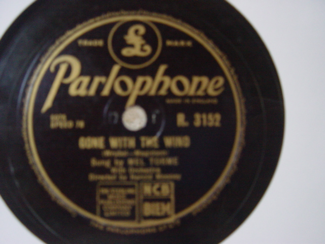 Mel Torme - Gone with the wind - Parlophone R.3152 Mint
